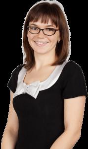 Wioletta Segin - pracownik firmy Egida Finanse